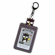 BAD BADTZ-MARU Photo Card Case Key Holder Sanrio Official Japan Keychain