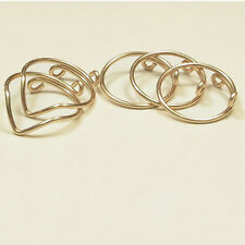 5Pcs/Set Fashion Womens Gold Silver Above Knuckle Finger Ring Band Midi Rings