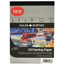 Daler Rowney : Georgian Oil : Pad : 7x5in