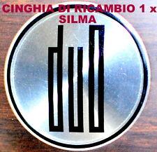 ★CINGHIA DI RICAMBIO MOTORE 1 x PROIETTORE SILMA DUO SUPER 8 mm★