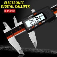 Vernier Caliper Pied à Coulisse Digital 0-150mm Numerique Acier Inoxydable