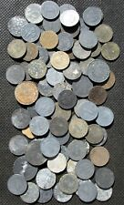 BIG LOT OF 81 OLD COINS THIRD REICH GERMANY SWASTIKA WORLD WAR II - MIX 1265
