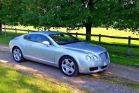 Bentley Continental GT Auto Silver