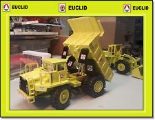"""1/40 NZG EUCLID/ TEREX 3307 Dump Truck in original """"EUCLID"""" colors"""