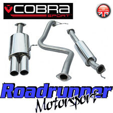 "Cobra Sport Fiesta ST180 ST200 Exhaust System Cat Back 2.5"" Resonated Twin FD50"