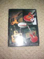 WASHBURN GUITARS 1998 CATALOGUE dimebag nuno stanley kiss shred collector custom