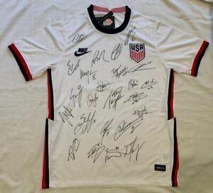 2021 USA Men's soccer team signed soccer jersey Pulisic +23 Nations League PROOF
