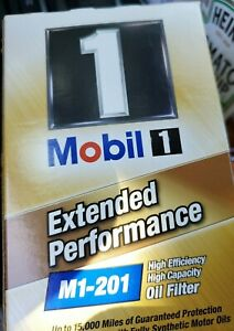 New, Mobil M1-201 Oil Filter new in box high efficiency high capacity