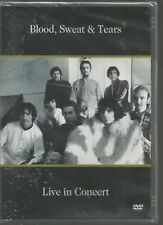 BLOOD SWEAT & TEARS - LIVE IN CONCERT - Canada 1980 - UK DVD - sealed/new