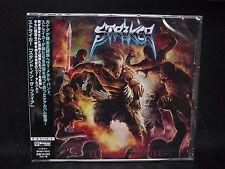 STRIKER Stand In The Fire JAPAN CD (Import With Obi & Liner) Cauldron Shadowblad