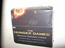 2012 The Hunger Games Movie Premium Trading Cards Box  NECA 24 Wax Packs Sealed