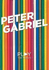 PETER GABRIEL - PLAY-THE VIDEOS  DVD NEW+