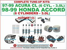 97-99 CL ACCORD V6 Tune-Up Kits: Spark Plug Wire Set, Filters, Dist. Cap & Rotor