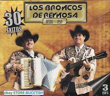 Los Broncos de Reynosa Desde 1959 30 Exitos 3CD New Nuevo sealed