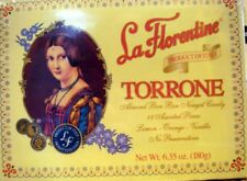 La Florentine Torrone soft almond bon bon nougat candy 18 assorted pieces
