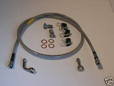 "Goodridge Stainless Brake Line Harley-Davidson 47"" Long AN3 screw on fitting"