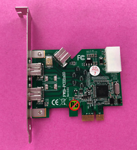 3-Port Firewire 800 IEEE-1394b PCI Express FWB-PCIE1x20 Frame Grabber Image 1394