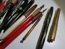 New ListingWow! Antique Ink Pens, Mechanical Pencil Lot of 32 Shearers, E Faber, Eversharp