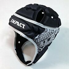 New Impact (Impact) Rugby Head Cap Islander Black Rugby Shock absorption Japan