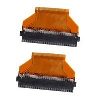 "2Pcs Mini 1.8"" 40pin ZIF HDD SSD Port to CF 50pin adapter Plug for Toshiba"