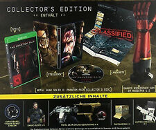 Metal Gear Solid-The Phantom Pain, Collectors Edition, Xbox One, nuevo & OVP