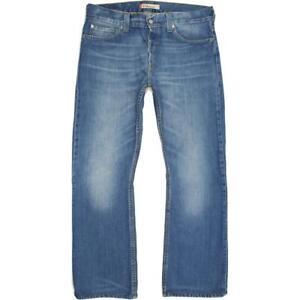 Levi's 512  Homme Bleu Bootcut Slim  Jeans W36 L32 (65113)