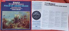 SXL 6878 KODALY Hymn of Zrinyi / Psalm 114 / Laudes Organi LUXON HELTAY UK LP NM