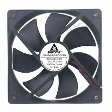 Gdt 120mm 25mm DC 12V 0.45A 100CFM Ball Cooling Fan  Computer Case Fan 120x25mm