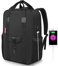 Arrontop Large Business Laptop Backpack 15.6 inch with USB Charging Port Anti-Th