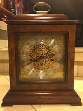 Howard Miller 59th Anniversary Key Wound Mantel Clock 612-724 Westminster Chime!