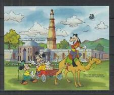Grenadines of St. Vincent DISNEY CHARACTERS in INDIA Disney Stamp S/S (D674)