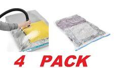Whitmor Spacemaker 4-pack Jumbo Vacuum Clothing Storage Bags Airtight Reusable