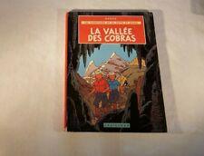 Comics Jo Zette and Jocko the Valley of Cobras Hergé Edition B39 1971