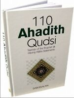 Book: 110 Ahadith Qudsi (hard cover) Islamic book  muslim by Darussalam 14x21cm