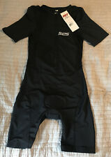Men's SL3S Triathlon Black Tri Suit Skinsuit Speedsuit Cycling Sz Large NEW NWT