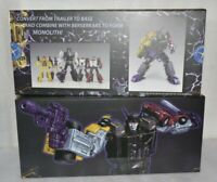 Transformers X-Transbots MX-12A GRAVESTONE G1 Menasor Motormaster Reissue MISB