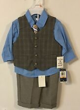 Infant Boy Dress 4 Piece Suits Size 12 Months