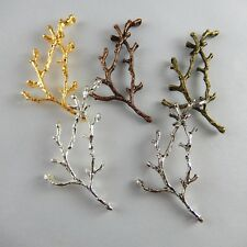 Wholesale 20 pcs Mixed Vintage Alloy Tree Branch Charms Pendant Craft Findings