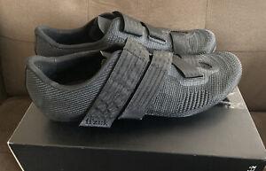 Fizik Vento Powerstrap R2 Aeroweave Road Bike Cycling Shoes Carbon Sz 48 13.5 14