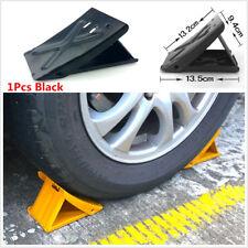 1Pc Antislip Vehicle Car Truck Motor Wheel Tire Chock Stop Block Black Anti-slip