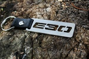 E30 Keychain for Bmw Keyring Chain Fob Keyfob Pendant M3 325 323 stainless steel