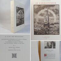 🌓 Georges RODENBACH Le Carillonneur eaux-fortes de Louis TITZ Carteret 1926