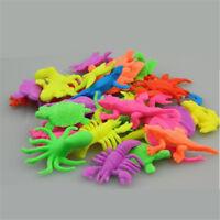 20pcs Plastic Ocean Creatures Sea Lion Dolphin Animals Figure Kids Toy Fun Gift