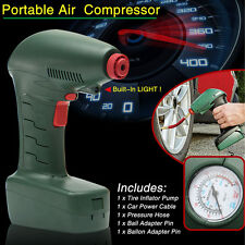 Novel DC 12V Portable Air Compressor Auto Bike Tire Inflator Pump Emergency Tool