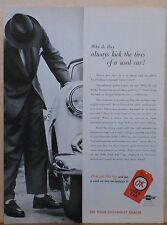 1955 magazine ad for Chevrolet - Why do they alway kick tires? OK used cars