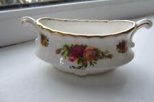 Royal Albert Old Country Roses Mustard Pot 1st Quality Bone China British Rare