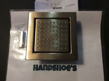 KOHLER WATERTILE 54 NOZZLE SHOWERHEAD-VINTAGE BRUSHED BRONZE #8002-BV *S42