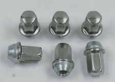 6 New Cadillac CTS DTS STS Factory OEM Polished Stainless 12x1.5 Lug Wheel Nuts