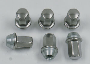 6 New Buick Lucerne Lesabre Factory OEM Polished Stainless 12x1.5 Lug Nuts