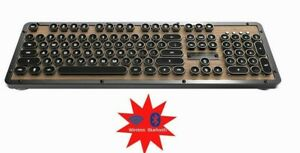 Azio  Retro Classic MK-RETRO-WBT-01-US  Elwood Bluetooth Mechanical Keyboard N